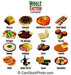 中東の料理