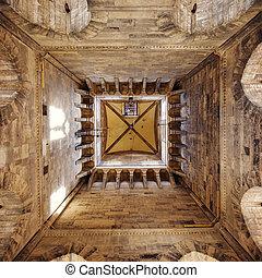 中, バシリカ, 光景, タワー, 鐘