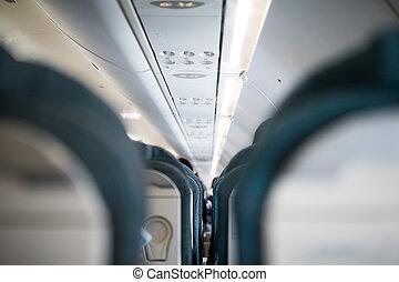 中, 航空機