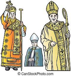 主教, 集合