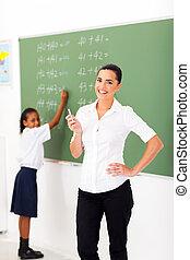 主要, 數學, 老師