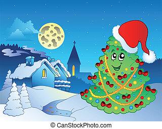 主題, クリスマス, 陽気, 4