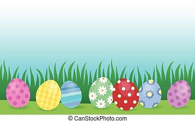 主題, 卵, イースター, イメージ, 4