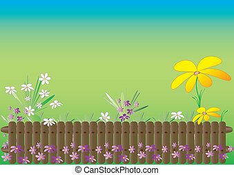 主題, 春, 庭
