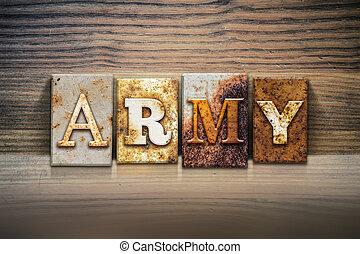 主題, 概念, 凸版印刷, 軍隊