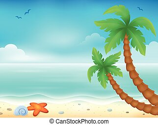 主題, 海灘
