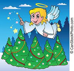 主題, 2, イメージ, 天使
