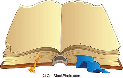 主題, 2, 古い, 本, イメージ