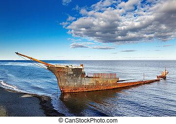 主, lonsdale, フリゲート艦, wreckship