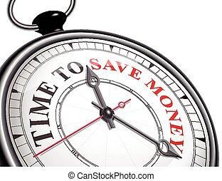 之外, 錢, 概念, 時間, 鐘