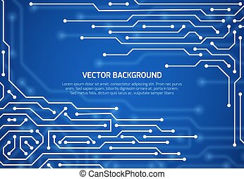 乗ること, 背景, 抽象的, cybernetic, ベクトル, 回路, 案