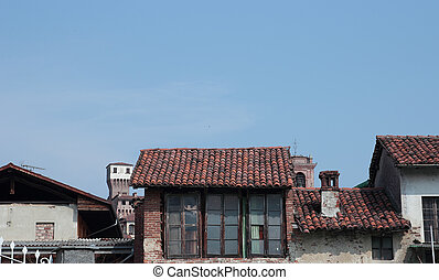 乡村, 老的建筑学