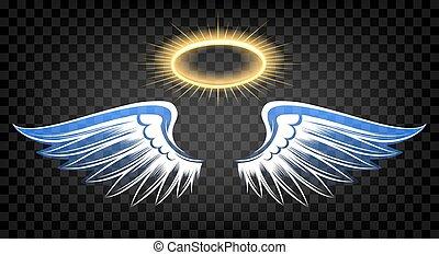 乱雲, 翼, 天使