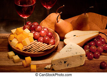 乳酪, 酒