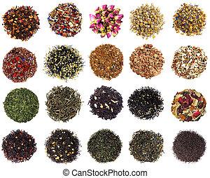 乾きなさい, お茶, 各種組み合わせ