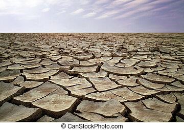 乾きなさい, 砂漠