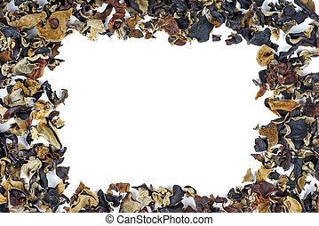 乾きなさい, muer, 白, 中国語, 黒, 隔離された, テキスト, background.frame.space, きのこ