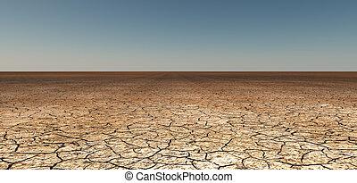 乾燥, 地球, 被爆裂