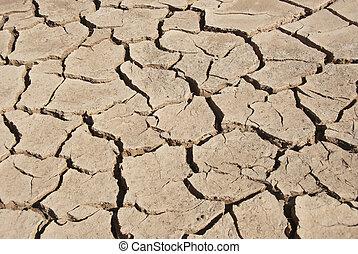 乾燥, 河床