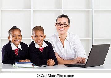 予備選挙, 教師, そして, 生徒