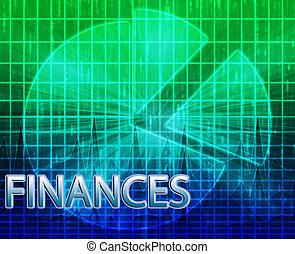 予算を組む, 金融, イラスト