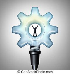 事務, 創造性, 能量