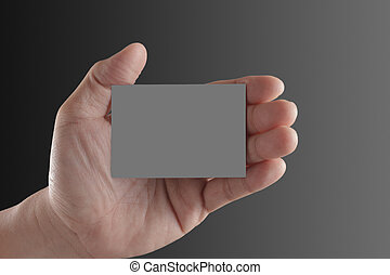 事務, 手, 紙, 藏品, 空白, 卡片