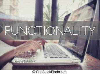 事務, 手, 鍵入, 上, a, 膝上電腦 鍵盤, 由于, functionality, 主頁, 上, the, 計算机屏幕, 實際, 目的, suitable, 技術, concept.