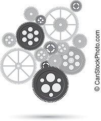 事務, 機制, concept., 摘要, 背景, 由于, 連線, 齒輪, 以及, 圖象, 為, 戰略, 服務, analytics, 研究, seo, 數字, 銷售, 通訊, concepts., 矢量, 插圖, ......的, frrame, 從, 齒輪, whith, 正文