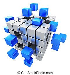 事務, 配合, 網際網路, 以及, 通訊, 概念