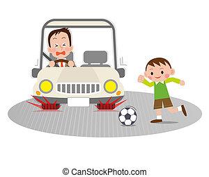 事故, 交通