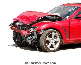 事故, 自動車
