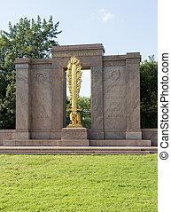 二番目に, 分割, 記念, washington d.c.