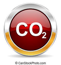 二酸化物, アイコン, 炭素