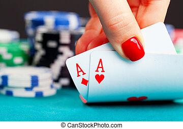 二, 一流人才, 同时,, 赌博芯片