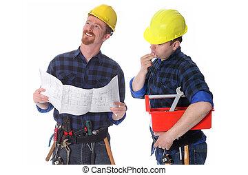 二, 建設工人, 由于, 建筑, 計划