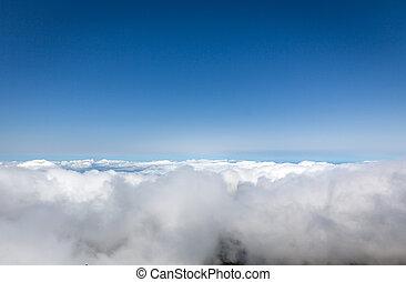 云霧, 上面