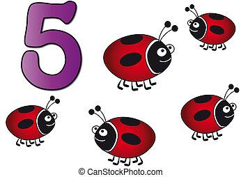 五, 數字