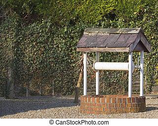井戸, 庭