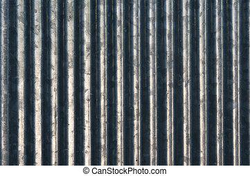 亜鉛, カーブ, 縦, 背景
