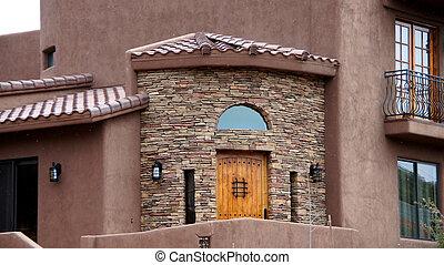 亞利桑那, 房子, 前面入口