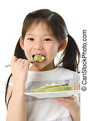 亞洲的女孩, 吃