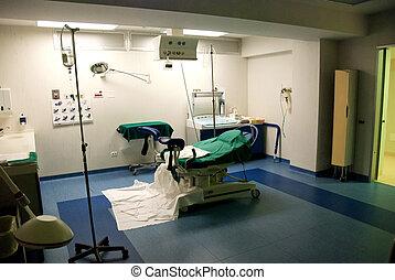 交付空間, 在, a, 意大利語, 醫院