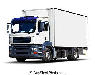交付, 白色, 卡車