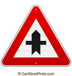 交叉路 標誌