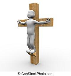 交差点, イエス・キリスト