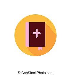 交差点, デザイン, 聖書, ベクトル, 隔離された