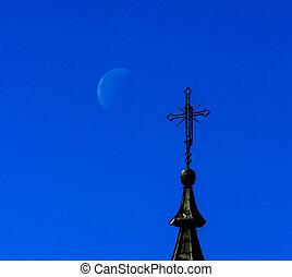 交差点, 月