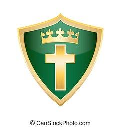 交差点, 西洋ヒイラギ, キリスト教徒, 十字架像, shie