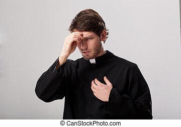 交差, 司祭, 彼自身
